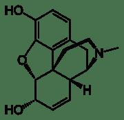 180px-morphine-2d-skeletal1