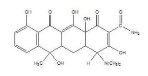 Struktur Tetrasiklin